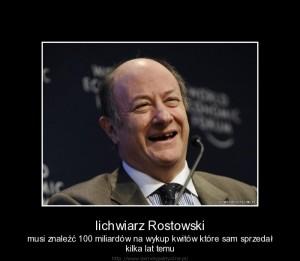 Lichwa Rostowski