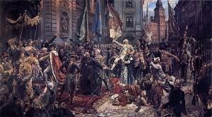Konstytucja 3 Maja 1791 roku obraz Jana Matejki