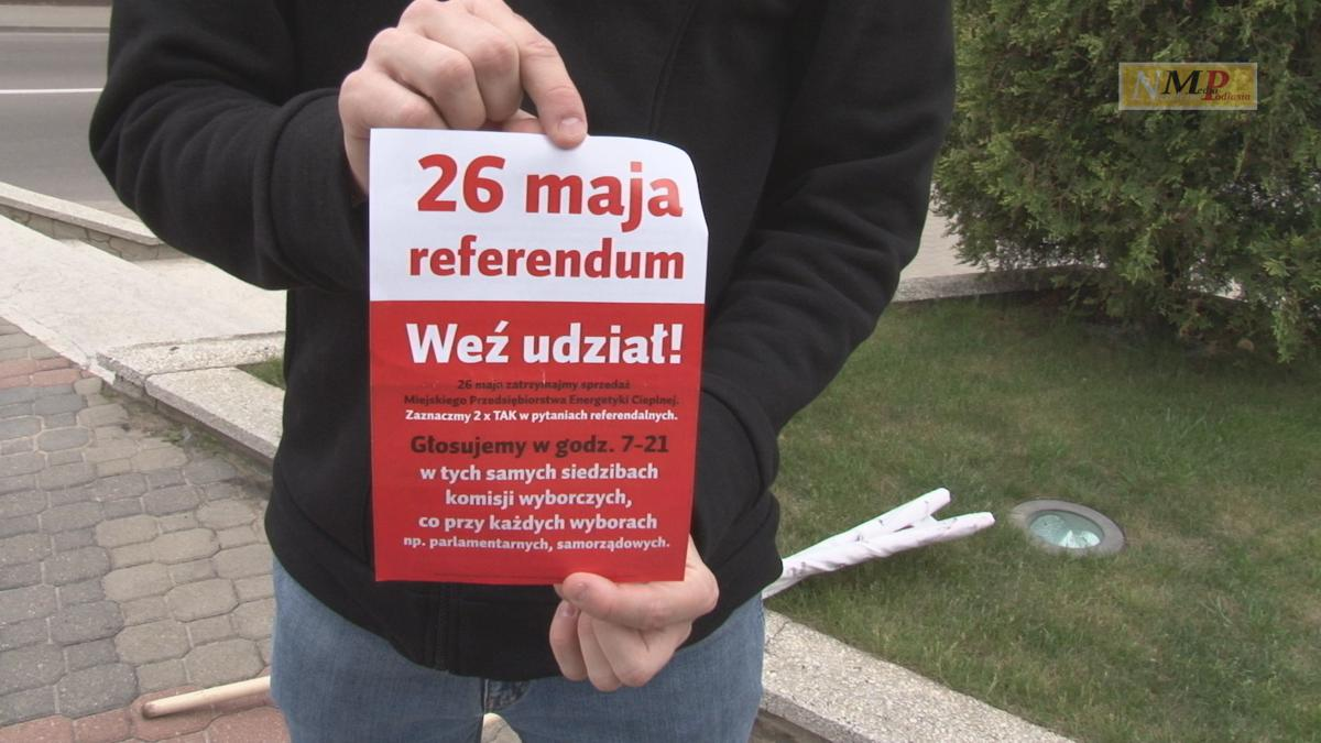 Głosujmy DWA RAZY TAK na druku referendalnym