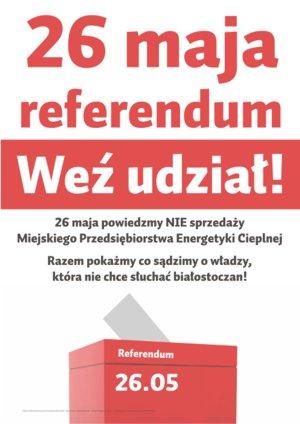 Informacje w sprawie referendum o sprzedaży MPEC
