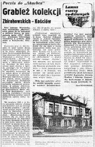 Kościa Zbirohowski