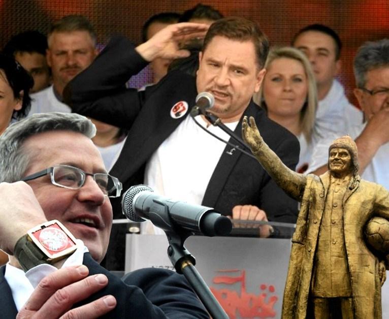 """""""PODPALACZE POLSKI idą pokazać SWOIM MOCODAWCOM, że są IM WIERNIE PODDANI"""""""