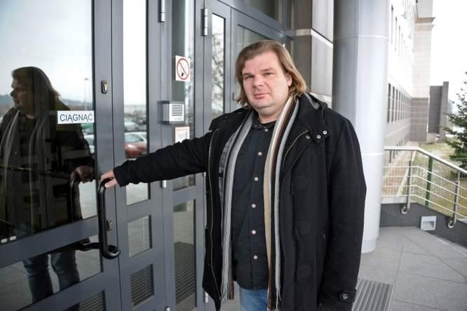 Rafał Gaweł, założyciel Teatru TrzyRzecze (fot. Andrzej Zgiet)