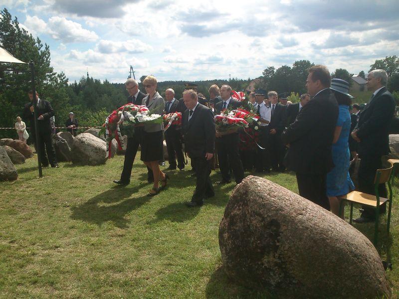 Pomnik Ofiar Obławy Augustowskiej  (zdjęcie IPN)