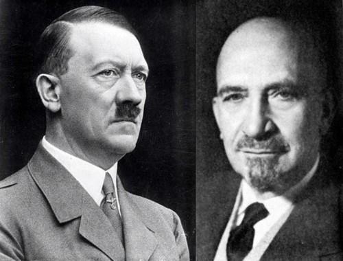 Adolf Hitler i Chaim Weizman w 1937 roku, kiedy jeszcze nie było żadnego Izraela