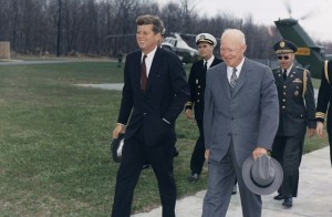 John-F-Kennedy-Dwight-D-Eisenhower-739x482