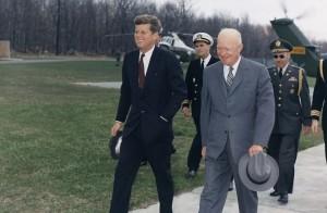 John-F-Kennedy-Dwight-D-Eisenhower-739x482